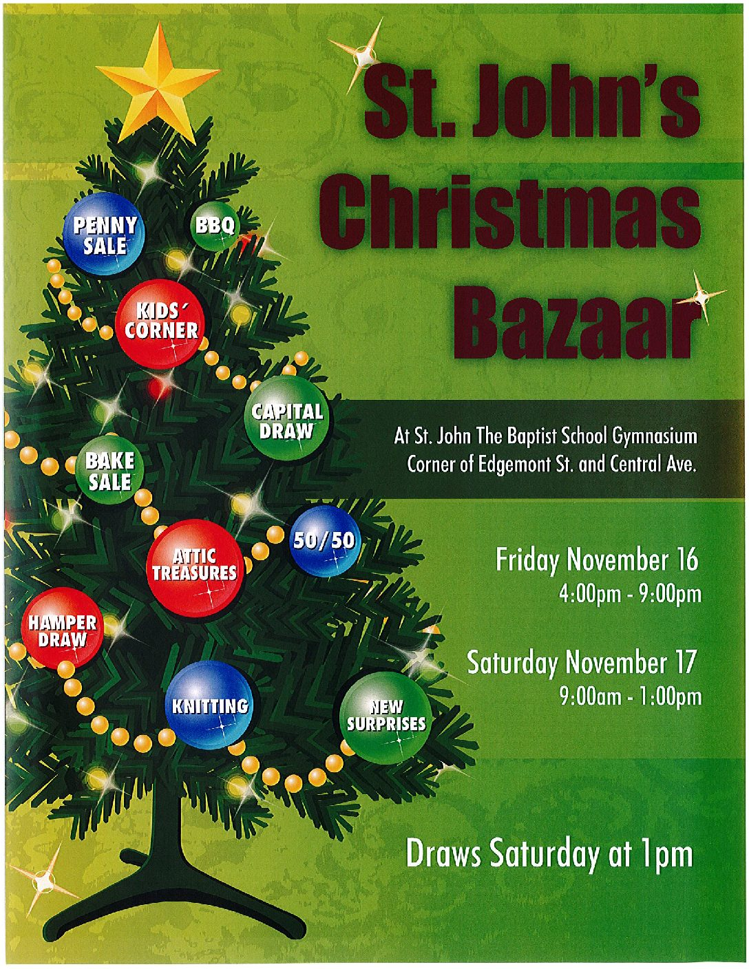 Annual Parish Bazaar